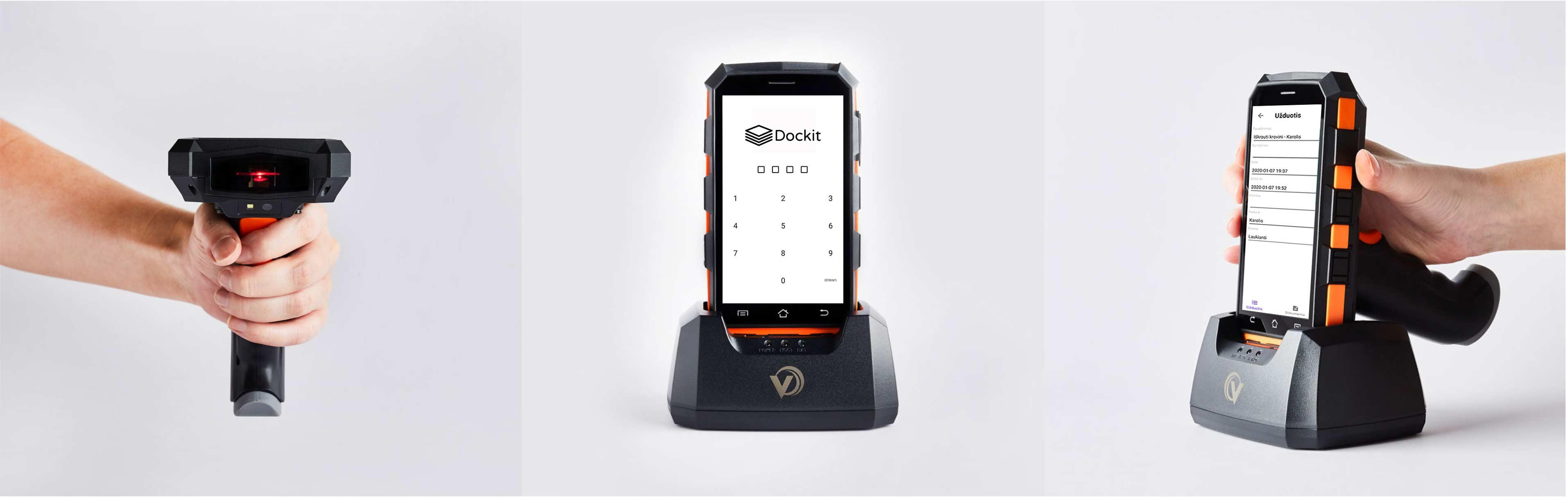 Sandėlio ir logistikos užsakymų valdymo sistema – Dockit