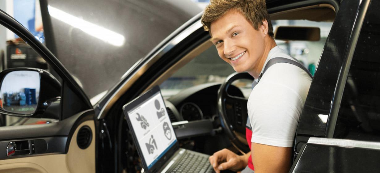 Automobilinės dujų įrangos diegimo programinė įranga